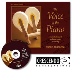 The Voice of the Piano by Crescendo Publications